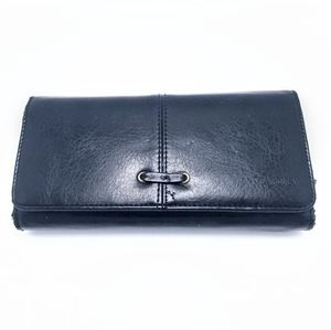 Black Leather Bently Wallet